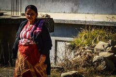 Красивая женщина Непала стоковая фотография rf
