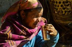 Красивая женщина Непала стоковая фотография