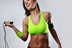 Красивая женщина фитнеса стоковая фотография