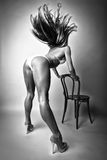Красивая женщина Стоковое Изображение