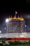 Красивая загоренная башня VIP во время гонки 2014 ночи F1 Стоковое фото RF