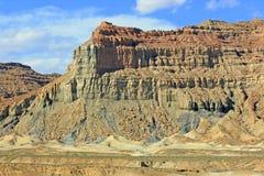 Красивая закоптелая гора, Юта Стоковое Изображение RF