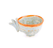 Красивая залакированная чашка Стоковые Фото