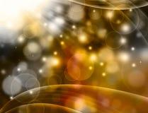 Красивая золотая предпосылка Стоковая Фотография RF
