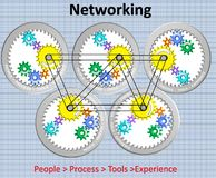Красивая иллюстрация сети бесплатная иллюстрация