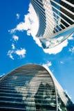 Красивая империя и развитие зданий moscow Россия Стоковые Фотографии RF