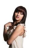 Красивая испанская женщина стоковое фото rf