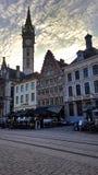Красивая историческая архитектура в Gent Стоковые Изображения RF