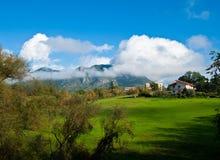 Красивая итальянская сельская местность Стоковое фото RF