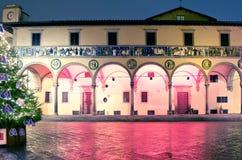 Красивая Италия к ноча стоковое фото