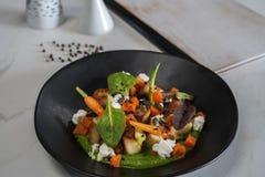 Красивая и вкусная изысканная еда стоковая фотография