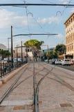 Красивая и историческая архитектура улиц Флоренс в Италии стоковые изображения