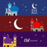 Красивая иллюстрация мечети Стоковая Фотография RF