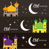 Красивая иллюстрация мечети Стоковые Изображения RF