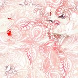 Красивая картина акварели вектор Иллюстрация штока