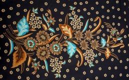 Красивая картина батика стоковые фото
