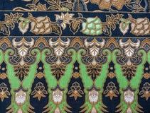Красивая картина батика стоковое изображение