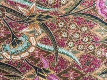 Красивая картина батика стоковые изображения