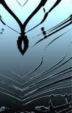 Красивая картина волнистых прокладок Выбивать и влияние краски масла стоковое фото