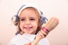 Красивая картина девушки Стоковая Фотография