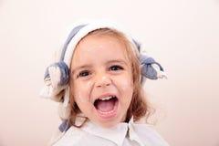 Красивая картина девушки Стоковое Фото