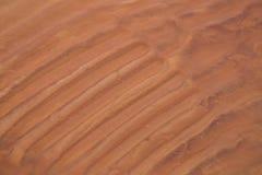 Красивая картина песка моря на пляже Текстура песка берега Балтийского моря Стоковое Фото