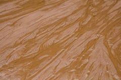 Красивая картина песка моря на пляже Текстура песка берега Балтийского моря Стоковое Изображение RF
