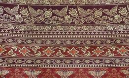 Красивая картина ткани Стоковое Фото