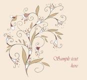 Красивая карточка для вашего дизайна карточка 2007 приветствуя счастливое Новый Год вектор Справочная информация Стоковые Изображения