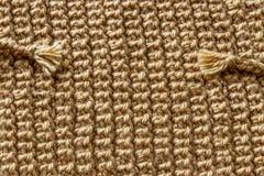 Красивая коричневая вязать текстура шерстей стоковые фото