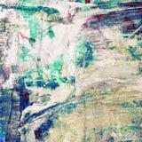 Красивая красочная абстрактная картина Стоковые Изображения