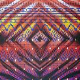 Красивая красочная текстура предпосылки картины Стоковые Фото