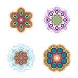Красивая круговая картина для вашего дизайна Комплект круговых картин Стоковое Изображение