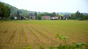 Красивая маленькая деревня в Германии видеоматериал