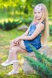 Красивая маленькая девочка стоковые фото