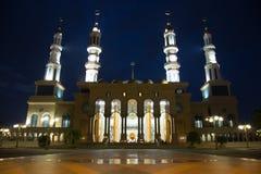 Красивая мечеть в Борнео Индонезии Стоковое Изображение