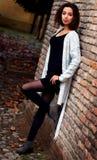 Красивая морокканская девушка в Падуе Стоковое Изображение