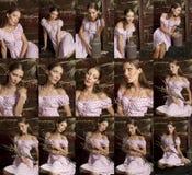 Красивая молодая женщина Стоковое Изображение RF