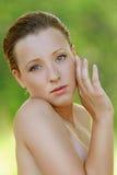 Красивая молодая женщина стоковые изображения