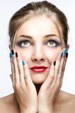 Красивая молодая женщина стоковая фотография rf