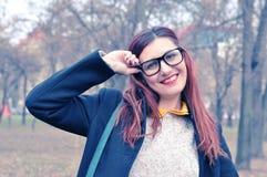 Красивая молодая женщина redhead стоковые фотографии rf