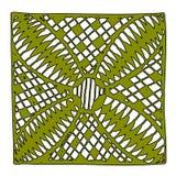 Красивая нарисованная вручную мандала eps10 Стоковая Фотография