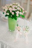 Красивая невеста букета свадьбы Стоковое Фото