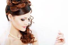Красивая невеста стоковые фото