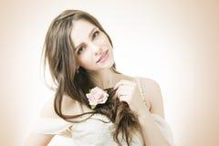 Красивая невеста стоковая фотография rf
