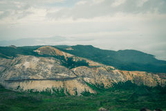 Красивая дорога горы Стоковые Изображения