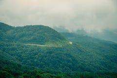 Красивая дорога горы Стоковое фото RF