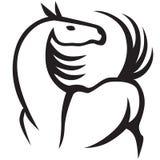 Красивая лошадь иллюстрация вектора