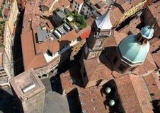 Красивая панорама исторического города болонья, Италии Стоковые Изображения