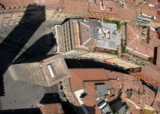 Красивая панорама исторического города болонья, Италии Стоковые Фотографии RF